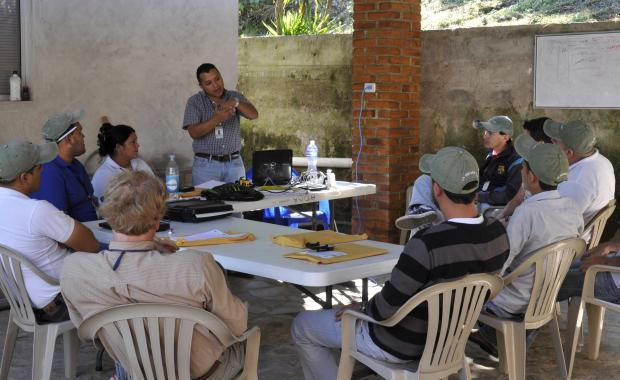 The Proyecto Mirador supervisory team.