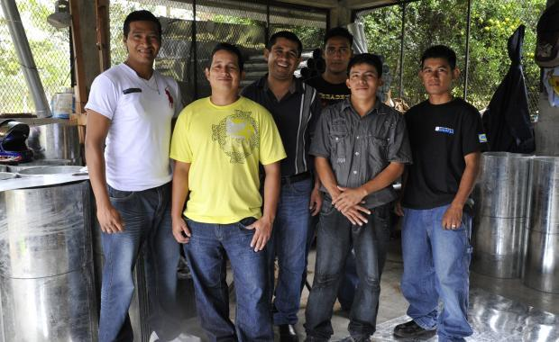 Ejecutor Francisco and his team.