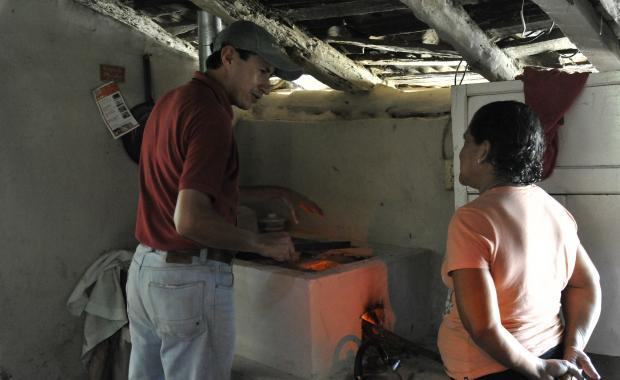 Ejecutores and Supervisors work closely together to monitor stove maintenance and insure beneficiaries received complete training.