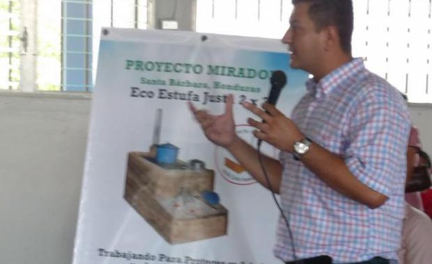 The next step is a community meeting to explain the Dos por Tres to beneficiaries.