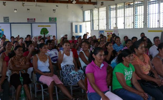 These women will learn how to get a Dos por Tres stove and how to care for it.