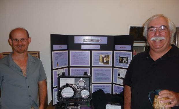 Aprovecho Research Center has invented portable monitoring devices we use to measure emissions and particulate matter.