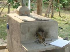 One 23% of stoves are built outdoors like this.